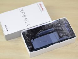 壊れたdocomo SO-01H Xperia Z5買取りました!液晶割れでも買取いたします!